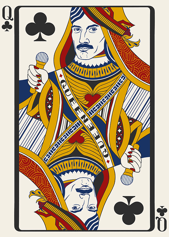 What Quirk >> Tacoma artist portrays Freddie Mercury as famous queens | Quirksee