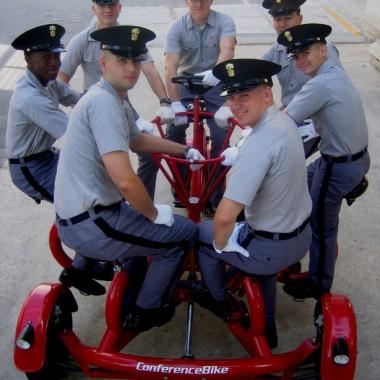 Cadets, The Citadel, Charleston, South Carolina. (Courtesy of Eric Staller)