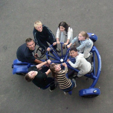 Schoolchildren in the U.K. (Courtesy of Eric Staller)