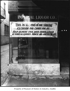 Imperial Liquor Co. sign ca. 1916. (Courtesy: MOHAI)