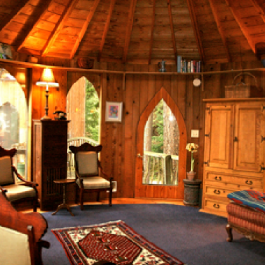The Hobbit House is located on Orcas Island. (Courtesy of SunRay Kelley)